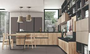 Living Dining And Kitchen Design by Immagina Kitchen Designs By Cucine Lube Integrating The Living