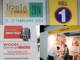 Woodworking Machinery Fair India by India Wood 2014 Tradeindia Trade Show Participation At India Wood