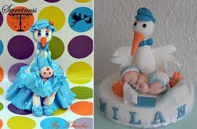 stork cake topper stork cakes for baby shower cake magazine