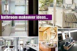 Easy Bathroom Makeover Inexpensive Bathroom Makeover Ideas