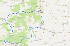 National Forest Map Colorado by Colorado Adventures Trips In Colorado 7 Days Trip