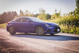 lexus rcf blue review 2015 lexus rc f canadian auto review