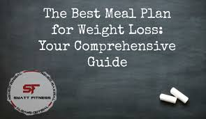the best meal plan for weight loss your comprehensive guide