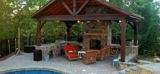 outdoor fireplace binhminh decoration