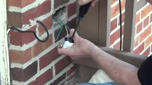 turn porch light into outlet exterior outlet installing an outdoor outlet conduit youtube