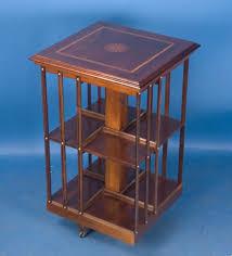 Oak Revolving Bookcase Antiques Com Classifieds Antiques For Sale Catalog 32