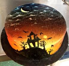284 best halloween images on pinterest haunted house cake
