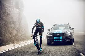 car leasing france not your average support car jaguar f pace leads team sky at 2015