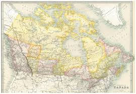 Map Of Canada by 1890 Dominion Of Canada Map Bought It Off Ebay Scanned To Share