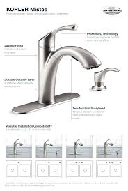 kohler pull out kitchen faucet kohler kitchen faucet home depot to lovely pictures of kitchen