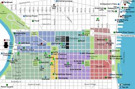 Downtown Chicago Map by Maps Of Dallas 2011