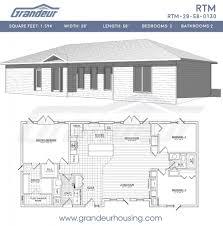 House Plans Open Concept House Plan 100 Rtm Floor Plans Ranch Floor Plans Open