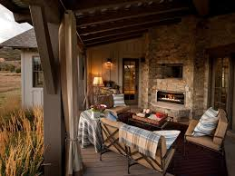 Backyard Living Room Ideas 20 Cozy Outdoor Fireplaces Hgtv