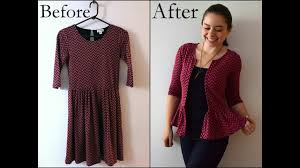 diy fashion how to renovate recycle your old clothes youtube