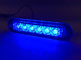 marine boat blue led light 14lm flush mount 12v 1 2w ip67
