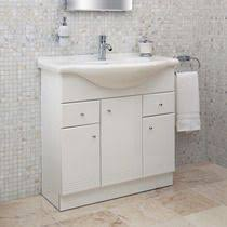 Vanity Units And Basins Old London Stone Grey Vanity Unit 600mm Traditional Vanity Units