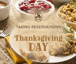 thanksgiving dinner reservations the garfield inn