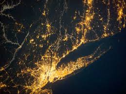 9 pictures of city lights from space reader s digest