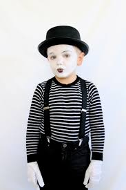 8 adorable last minute halloween costumes for kids mime costume