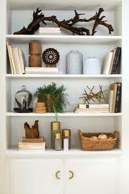 Bookcase With Baskets Creative Bookshelf Styling And Layering Tricks