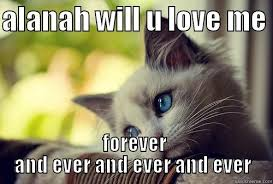 Forever And Ever Meme - first world problems cat memes quickmeme