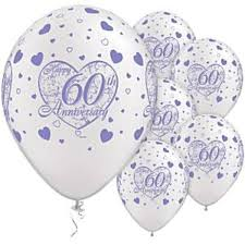 60th wedding anniversary plate 60th wedding anniversary plates napkins tableware cups