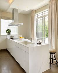 Simple Kitchen In Modern Apartment Contemporary Design Ideas - Contemporary apartment design