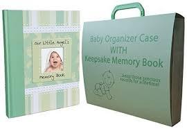 baby keepsake book baby memory keepsake book briefcase album organizer paperwork