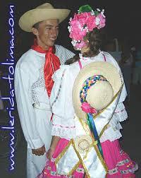 traje del sanjuanero huilense mujer y hombre para colorear danzas municipales info lérida tolima