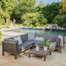 Outdoor Sofa With Chaise Outdoor Sofas U0026 Loveseats