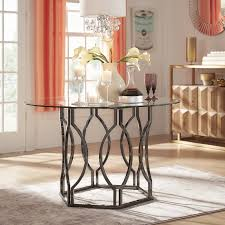 wayfair glass dining table willa arlo interiors affric glass dining table reviews wayfair ca