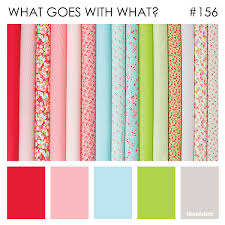 what goes with pink what goes with what little ruby by bonnie camille ilovefabric