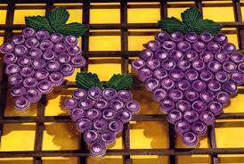 Grape Kitchen Rugs Grape Arbor Plate Mat Pattern Crochet Patterns