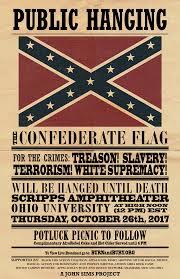 Confederate Flag Black And White Multimedia Artist John Sims Brings U0027confederate Flag A Public