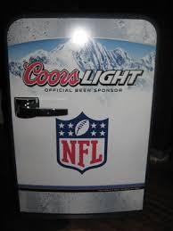 coors light beer fridge rare coors light beer nfl football mini fridge heater 165733096