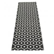 Black White Runner Rug Scandinavian Designer Rugs And Runners 70 X 350cm Cloudberry Living