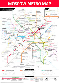 Madrid Subway Map Moscow Metro Map Lines Stations And Interchanges