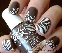 zebra pattern nail art animal print nail art by ewlyn nailpolis museum of nail art