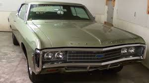 1969 chevrolet impala custom 327 v8 youtube