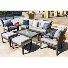 seating sets costco with wicker patio furniture plan 26