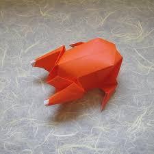 thanksgiving turkey origami tektonten papercraft