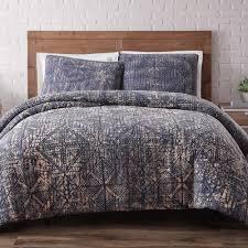 patrina soft fog cotton embroidery queen duvet cover v011869 the