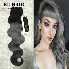 pictures of black ombre body wave curls bob hairstyles grade 8a ombre grey hair weave 3 bundles aliexpress brazilian hair