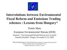 environmental bureau eeb s environmental fiscal reform caign budapest european