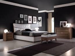 black wall paint bedroom