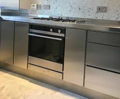 stainless steel kitchen cabinet doors uk mpmkitchens co uk