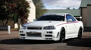 nissan skyline modified nissan skyline gt r r34 car jdm tuning wallpapers hd desktop