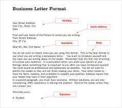 formal business letters templates formal letter template 30 free word pdf documents download