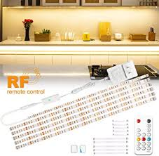led kitchen cupboard cabinet lights wobsion cabinet lights warm white kitchen cabinet lighting 6 pcs dimmable lights with rf remote 12v high bright with 180 leds led