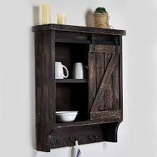 barn door for kitchen cabinets wood barn door wall cabinet with hooks